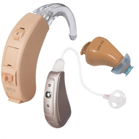 Hearing devices are available in a variety of styles and sizes.