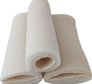 Multi-Size Tubular Bandages. Different diameters shown. soft spongy foam bandages